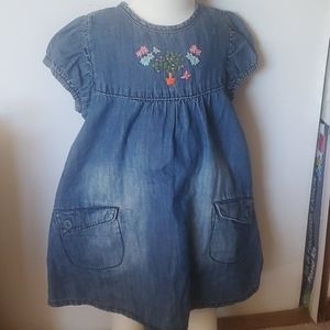 H and M jean dress